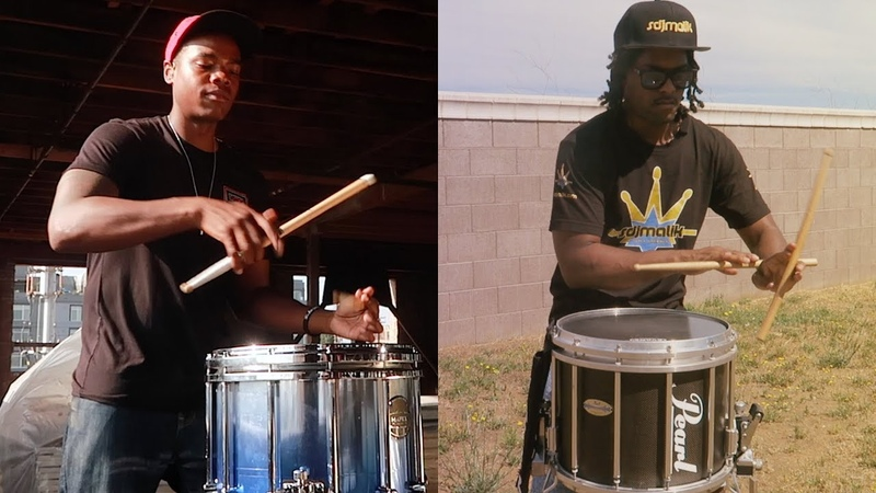 Dreamville Down Bad Snare Drum Cover 5 Drummers