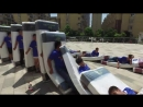 Incredible Human Mattress Dominoes in 4k Guinness World Records
