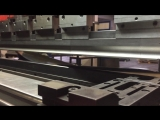 Гибка панели на заводе #Промметалл