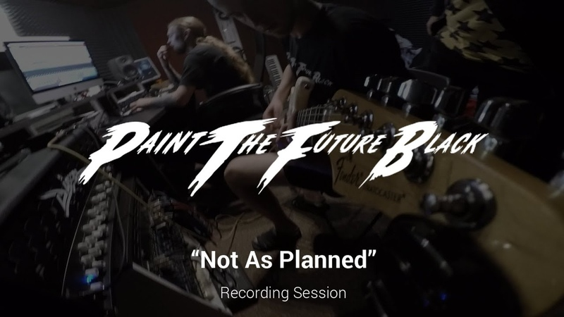 PTFB - Not As Planned (guitar recording session)
