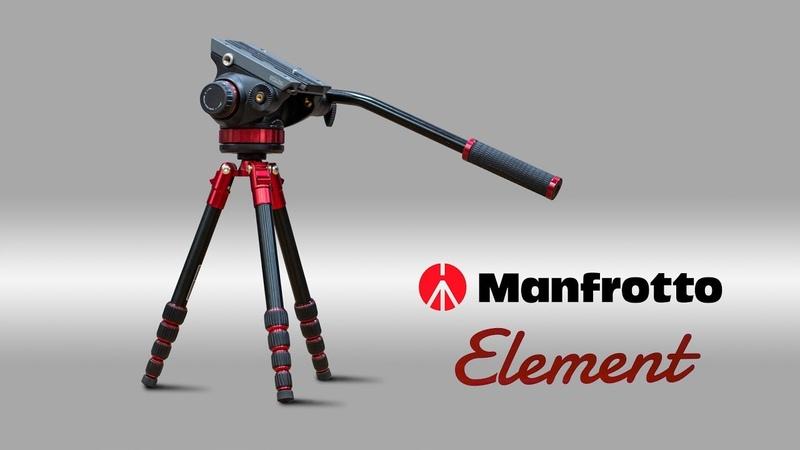 Manfrotto element распаковка, обзор возможностей, сравнение