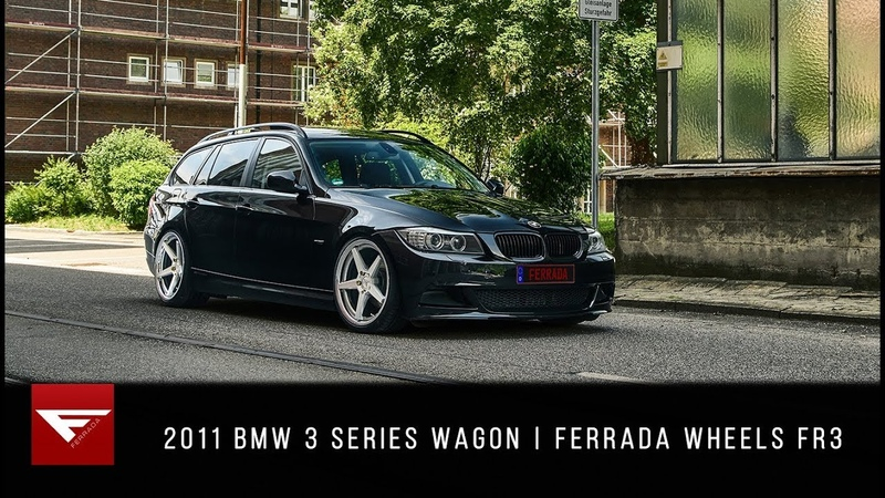 2011 BMW 3 Series Wagon Keep it Clean Ferrada Wheels FR3