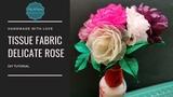 D.I.Y. Tissue Fabric Delicate Rose MyInDulzens