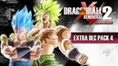 Dragon Ball Xenoverse 2 (Switch) First Look at Gogeta SSGSS Broly SSFP - Extra Pack 4 - Gameplay