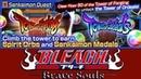 SENKAIMON QUEST - TOWER OF FORGING (Floors 30-50) | Bleach Brave Souls 440
