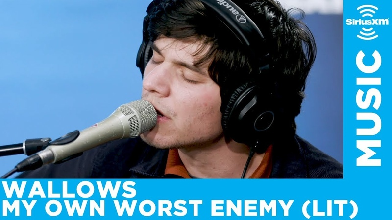 Wallows perform a cover of Lit's My Own Worst Enemy live at SiriusXM Studios