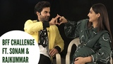 BFF Challenge Ft. Sonam Kapoor And Rajkummar Rao POP Diaries Exclusive