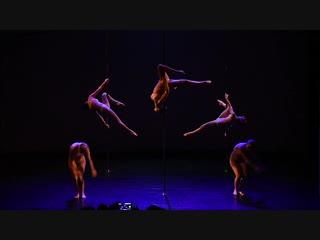 Смирнова Светлана, Воронова Татьяна, Огнева Ирина, Гонтаренко Мария, Тиунова Ольга. Шоу Transformation - Pole Dance Style