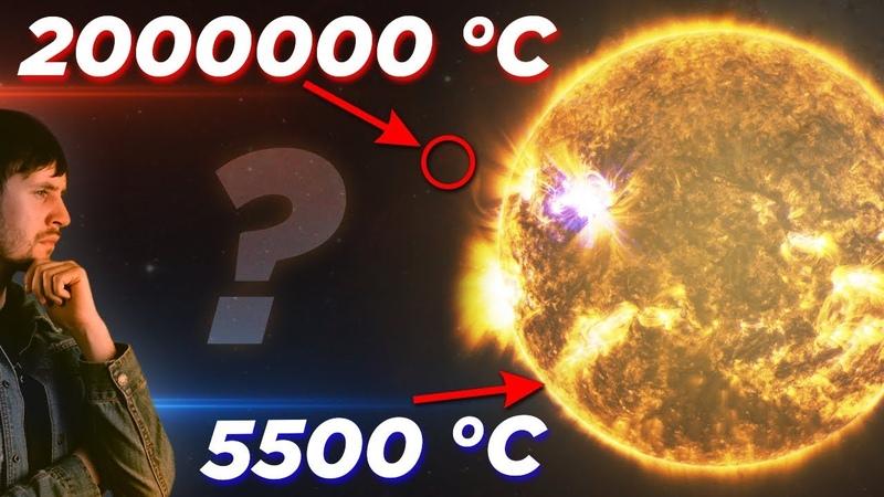 Почему солнечная корона такая горячая? / Проблема нагрева солнечной короны. Популяризатор астрономии Андрей Кузнецов