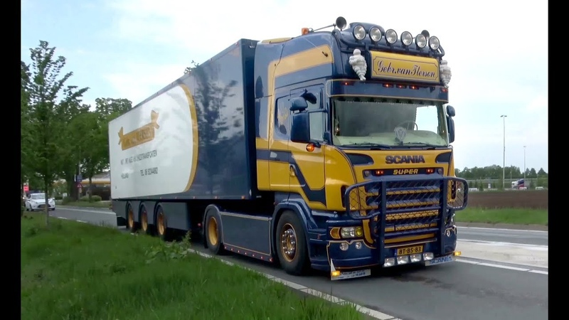 Truck spotting @ BIGtruck shop Asten Autohof Berg and on the road