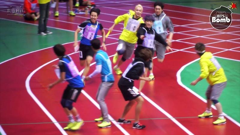[BANGTAN BOMB] a 400-meter relay race @ 아육대