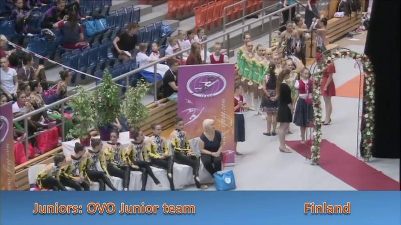 OVO Junior Team FIN FinalЭстетическая гимнастика
