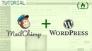 Setting up MailChimp on WordPress with plugins plus creating a MailChimp landing page