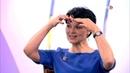 Алена Россошинская на канале ТВЦ в программе Настроение . Комплекс упражнений для бодрости лица.