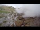 Кальдера вулкана Мутновский. Ручей и камни.