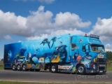 VOLVO FH OUTSTANDING AIRBRUSH TRUCK FINDING NEMO MoDo Transport