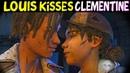 Louis Clementine KISS (Louis Romance) - The Walking dead Final Season Episode 2
