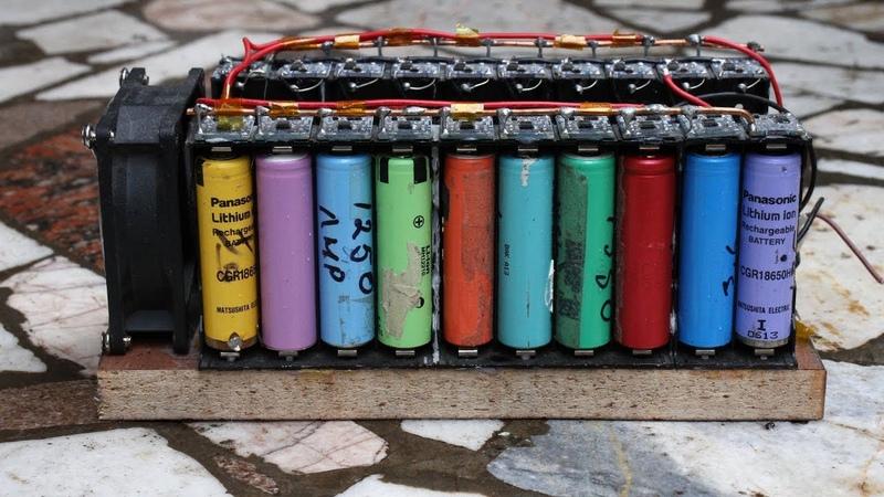 СУПЕР МОЩНОЕ зарядное устройство для LI-ION аккумуляторов