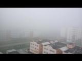 И вновь на город опускается туман