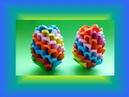 DIY Origami (Modular) Regenbogen Osterei Geschenk zu Ostern; RAINBOW EASTER EGG TUTORIAL GIFT IDEAS