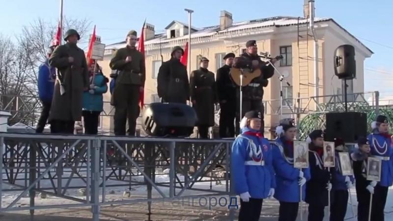 Видеофильм об Агитпробеге поискового отряда и 6 армии