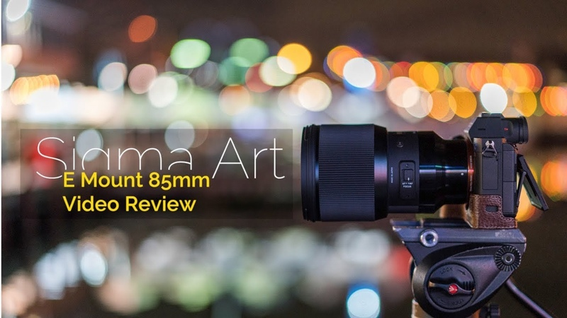 Sigma Art 85mm 1.4 E Mount Video Review and AF Test