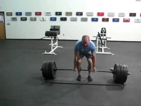 Эрик Кресси становая тяга 272 кг на 3 повторения