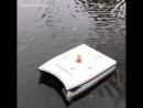 Аппарат Shark для сбора мусора на воде - vk.comp.obrazovanie