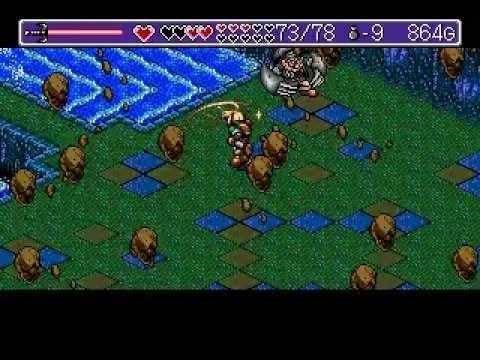 Landstalker Sega Genesis MegaDrive Walkthrough Part 5 5