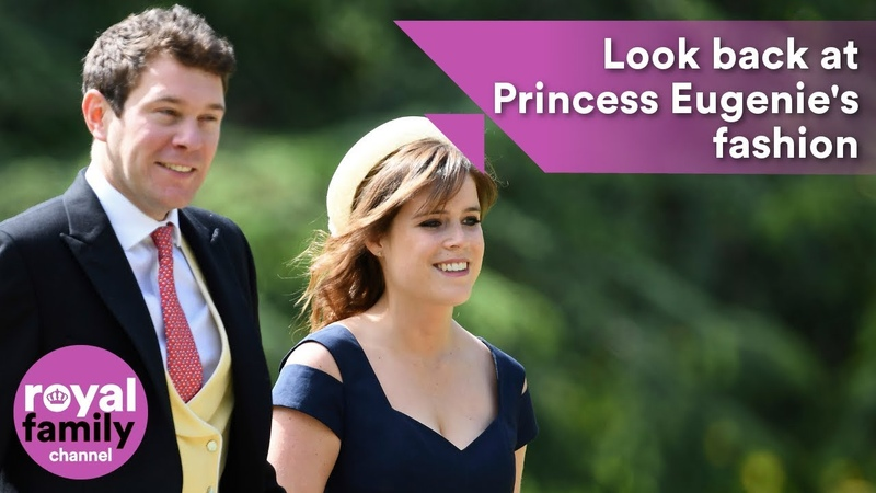 Princess Eugenie look back at her style ahead of the royal wedding