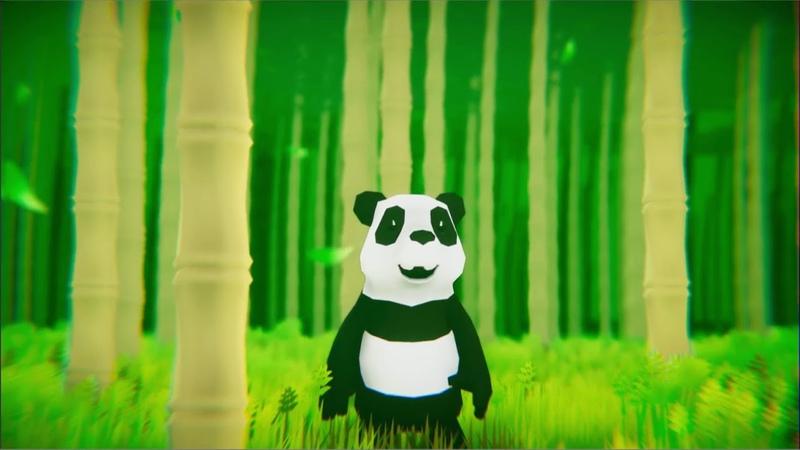 Unity3d blender3d panda test
