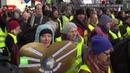 Les Gilets jaunes protestent contre le nouveau traité franco-allemand