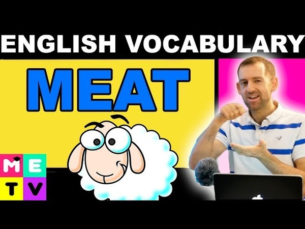 English Vocabulary Names of Meat White Meat