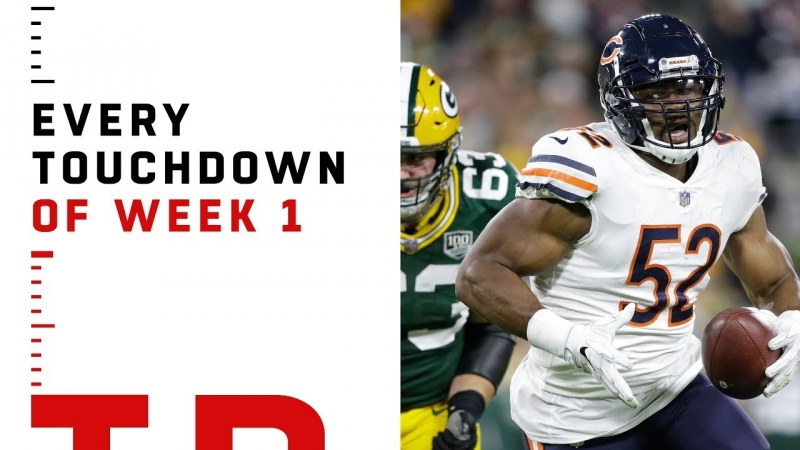 Every Touchdown from Week 1 - NFL 2018 Highlights