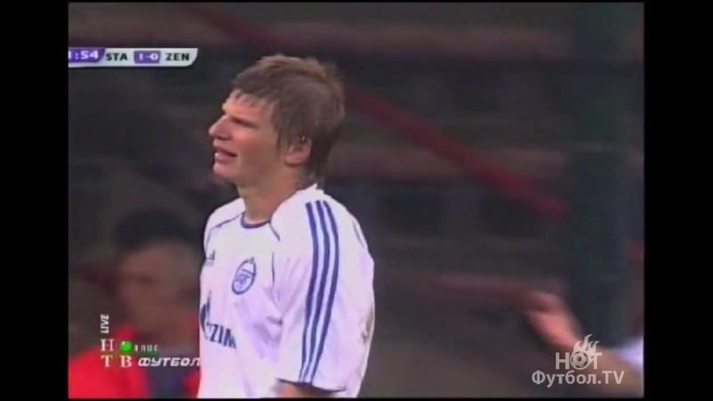 Стандард 1-1 Зенит. 3-й отборочный раунд Кубка УЕФА 2007/08. Обзор ответного матча