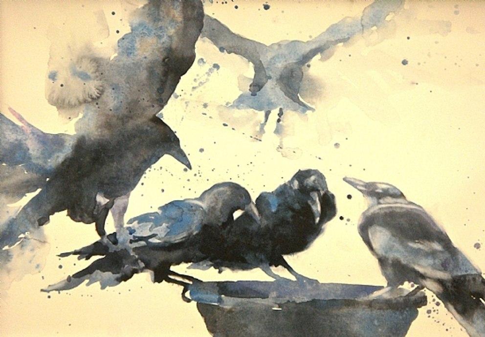 Sarah Yeoman Watercolor