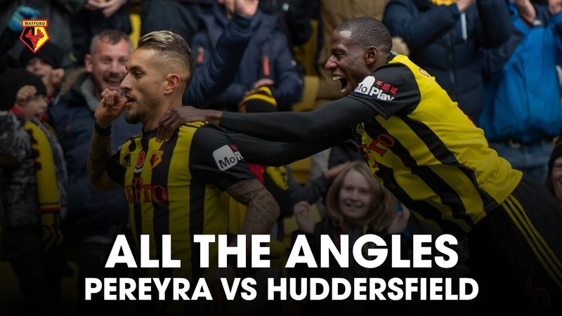 ALL THE ANGLES | PEREYRA 🔥AGAINST HUDDERSFIELD 😱