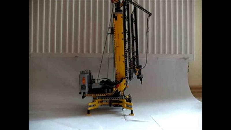 Lego Technic Kreation 16 Liebherr 20k Schnelleinsatzkran Teil 1