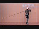 Task 2.9.2a : Biomechanical Simulation of Kung Fu (2) : 詠春六點半棍法