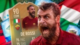 THE BEST CDM IN FIFA! 90 RATED FLASHBACK DE ROSSI PLAYER REVIEW! FIFA 19 Ultimate Team