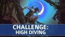 Испытания SotTR. Пайтити. Прыжки в воду (Совершить 4 прыжка с трамплинов в воду)