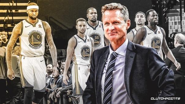 «Голден Стэйт» установил рекорд НБА по количеству стартовых пятерок, использованных в одном розыгрыше плей-офф