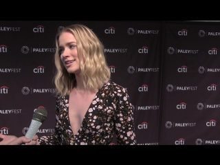Elizabeth Lail Interview for Lifetimes You at PaleyFest Fall TV Previews