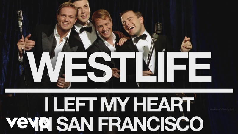 Westlife - I Left My Heart in San Francisco (Official Audio)
