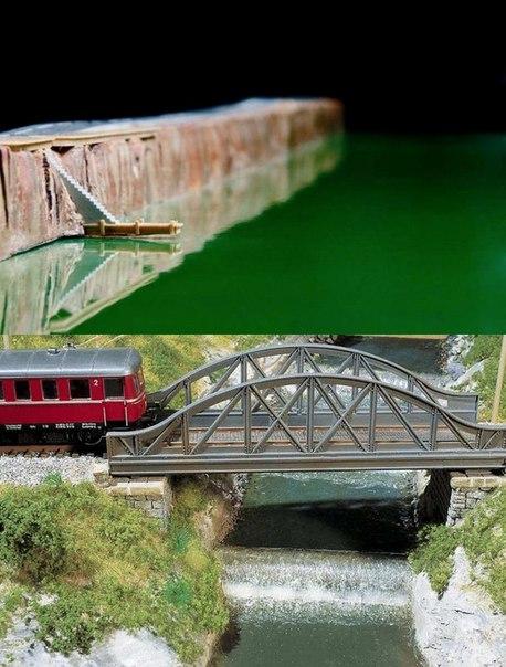 Живая вода Нарезка диорам в которых эпоксидная вода выглядит крайне натурально.