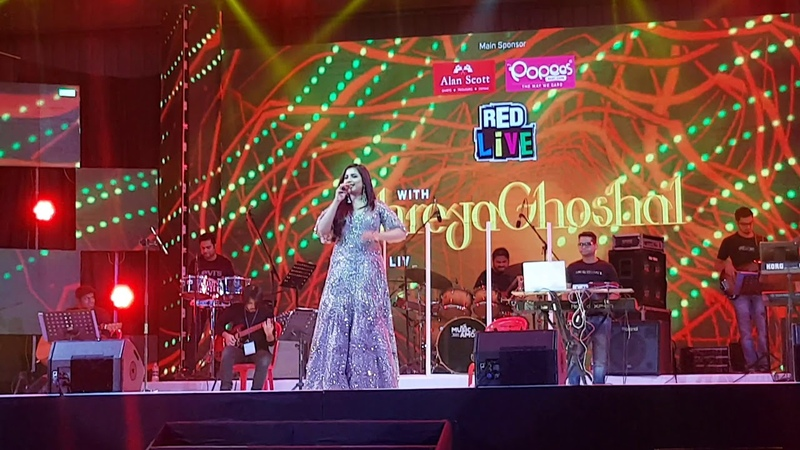 Shreya Ghoshal Live in Calicut Concert chickni Chameli