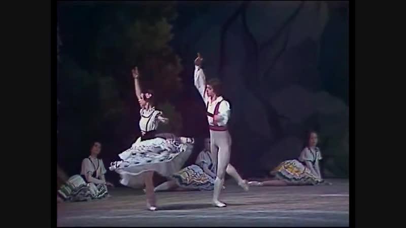 Das Schweizer Milchmädchen (Швейцарская молочница) - ballet
