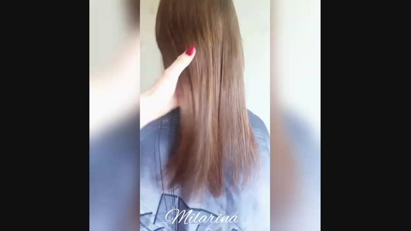Полировка волос и подравнивание кончиков 💚