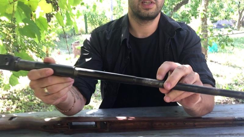 Сборка, разборка СХП Маузера К98 7.62х51мм / Disassembly, Assembly blank firing Mauser K98 7.62x51mm