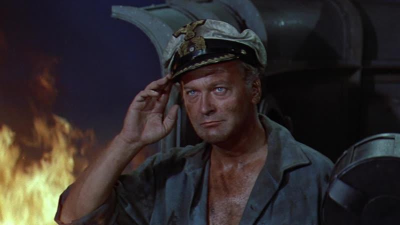 Под нами враг Враг внизу Враг под водой The Enemy Below. 1957. 720p. Перевод DVO. VHS